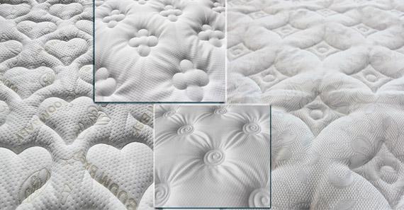 Стежка матрасной ткани
